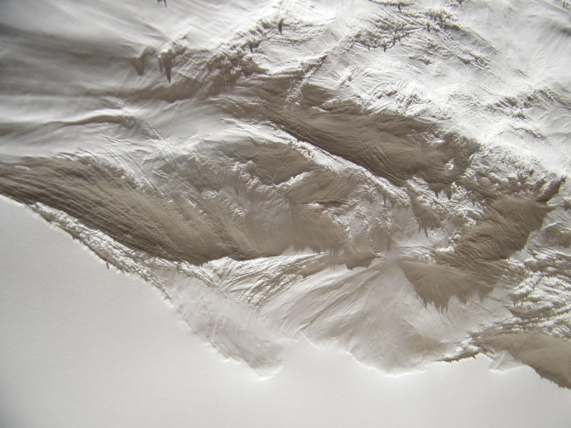 Aja von Loeper, Weißes Blatt (Detail),