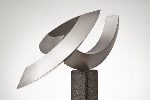 geometrische Skulptur von Christian Rudolph
