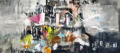 abstrakte malerei von Sissi Edler