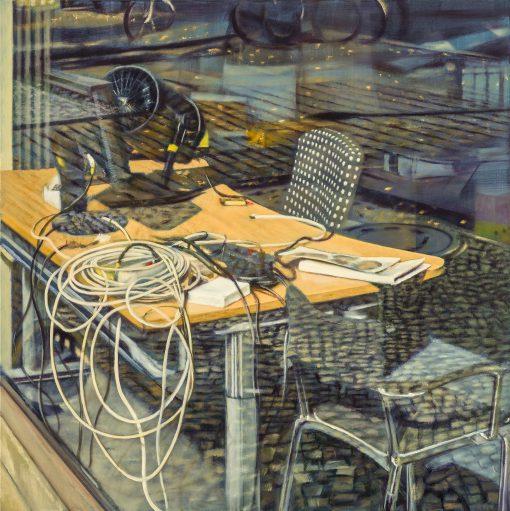 Schreibtisch von Jürgen Durner