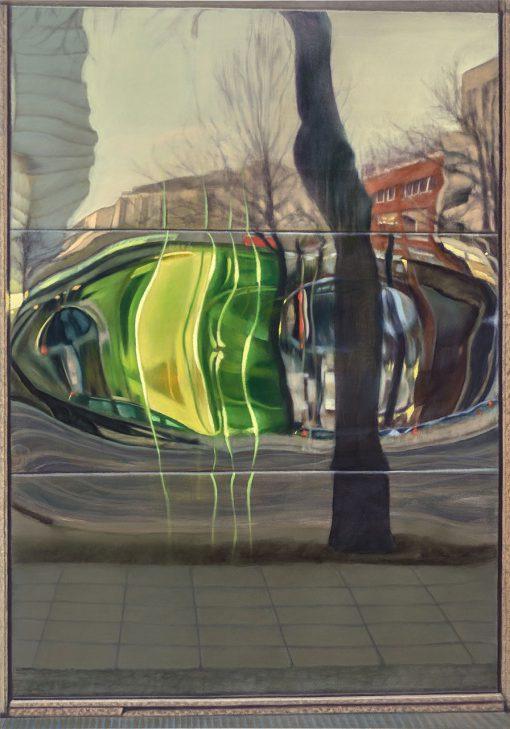 Straßenspiegelung von Jürgen Durner