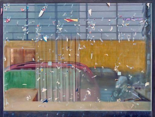 Schaufenster mit Spiegelung von Jürgen Durner