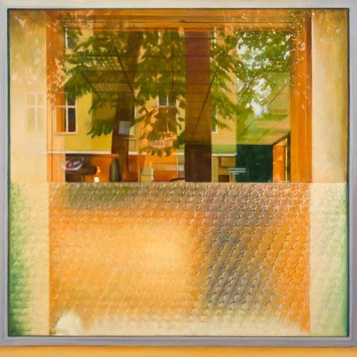 Fenster mit Spiegelung von Jürgen Durner