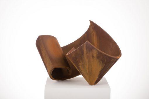 abstrakte Plastik von Christian Rudolph