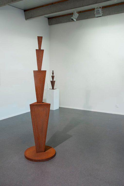 abstrakte Skulptur von Rüdiger Seidt