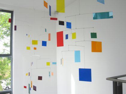 geometrische Skulptur von Rosali Schweizer