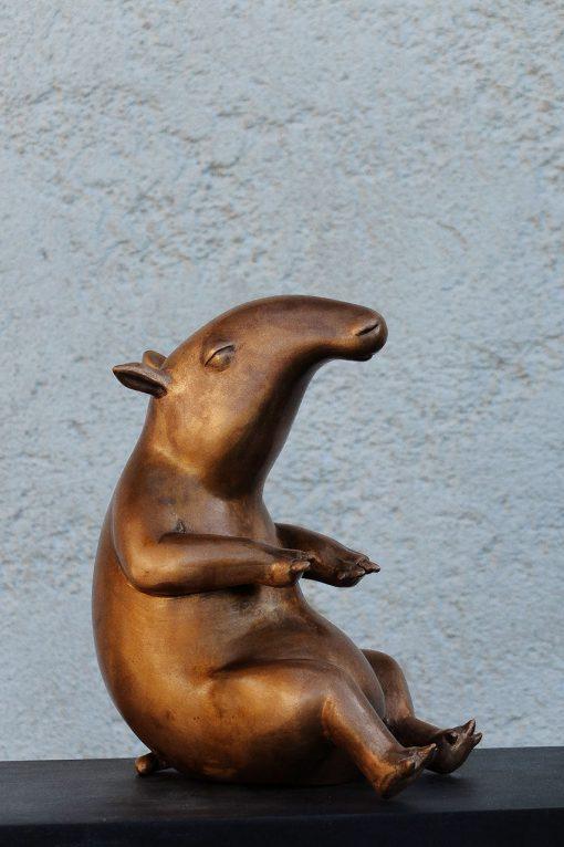 Tier aus Bronze von Susanne Beurer