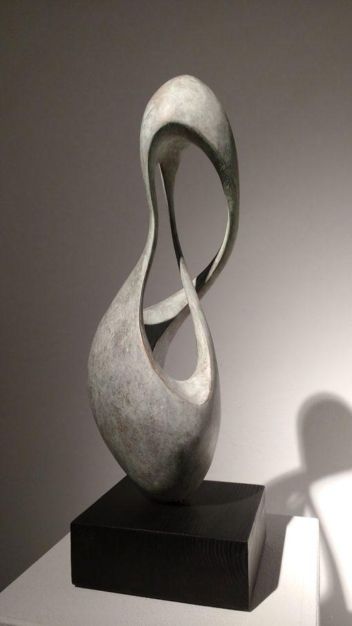 abstrakte Skulptur von Yves Rasch