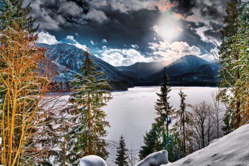 Barrier Lake V