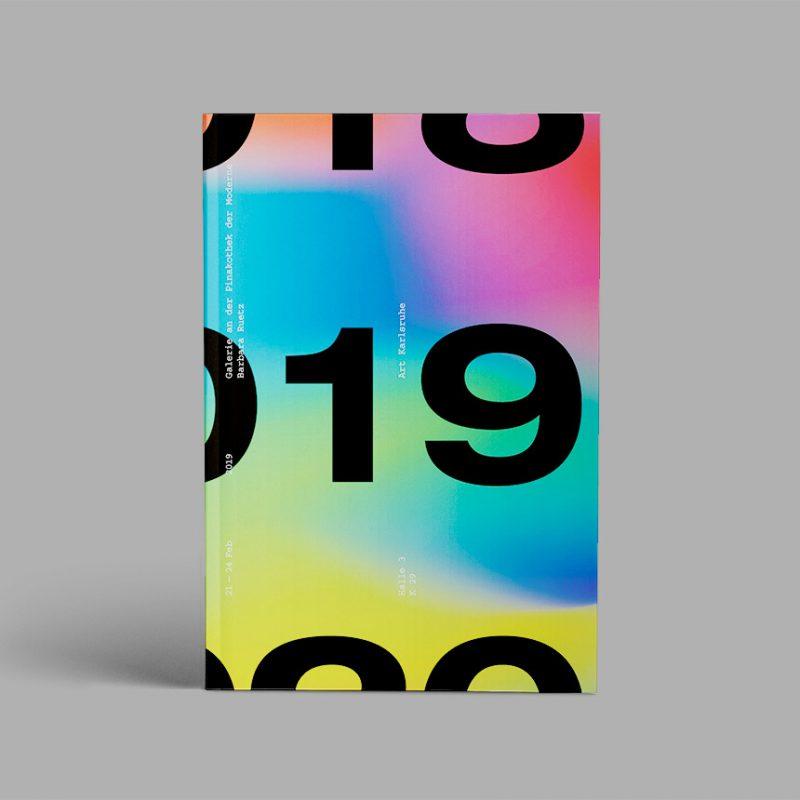 Broschüre zur art Karlsruhe 2019