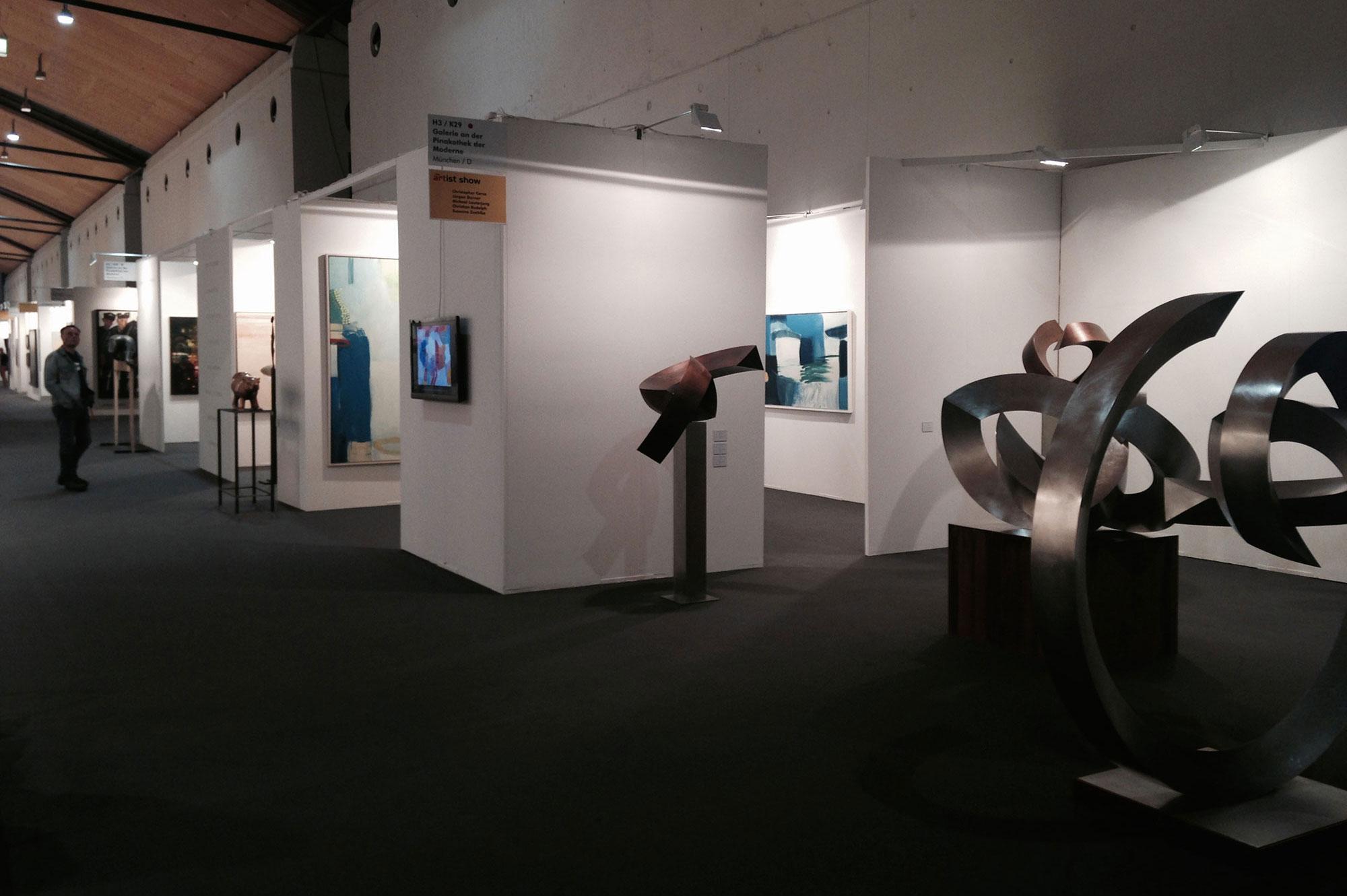 Gegenwartskunst auf der art Karlsruhe 2014