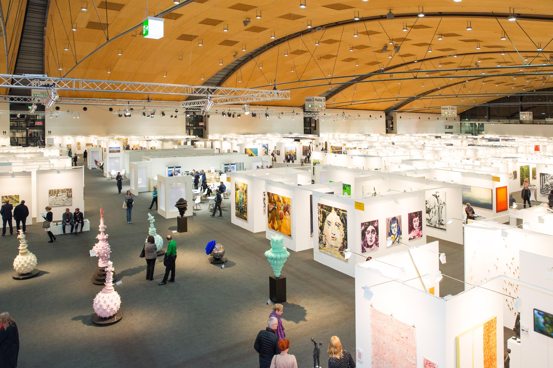 Eine Messehalle der art Karlsruhe 2018