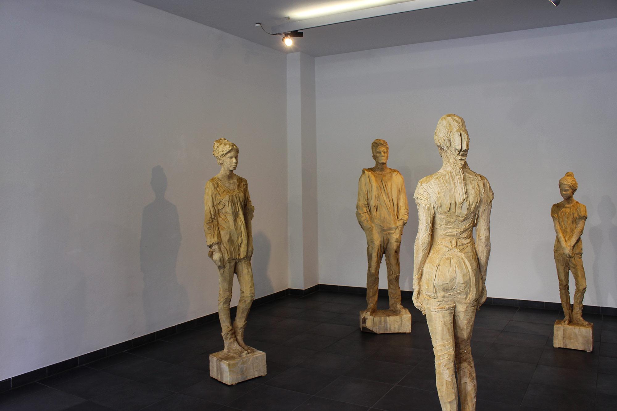 Jozek Nowak Ausstellungsansicht