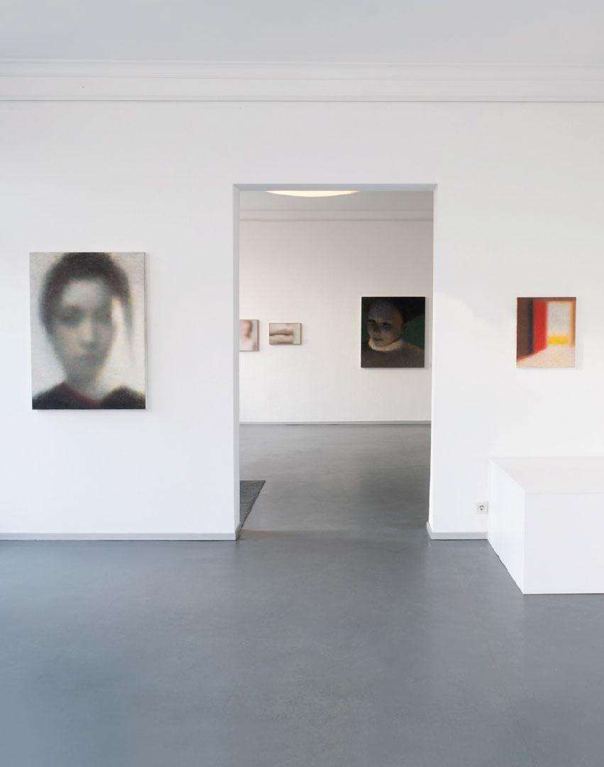 Ausstellungsansicht Robert Bosisio in der Galerie Ruetz