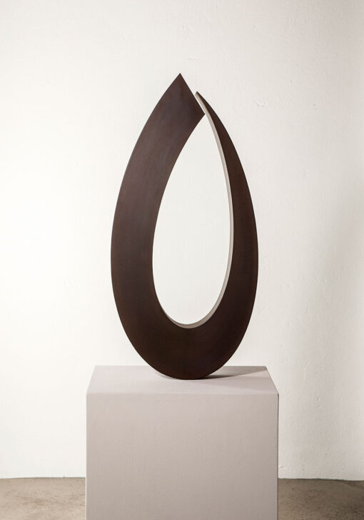 abstrakte Skulptur Tulpe