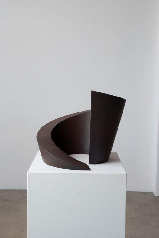 abstrakte Plastik einer Spirale